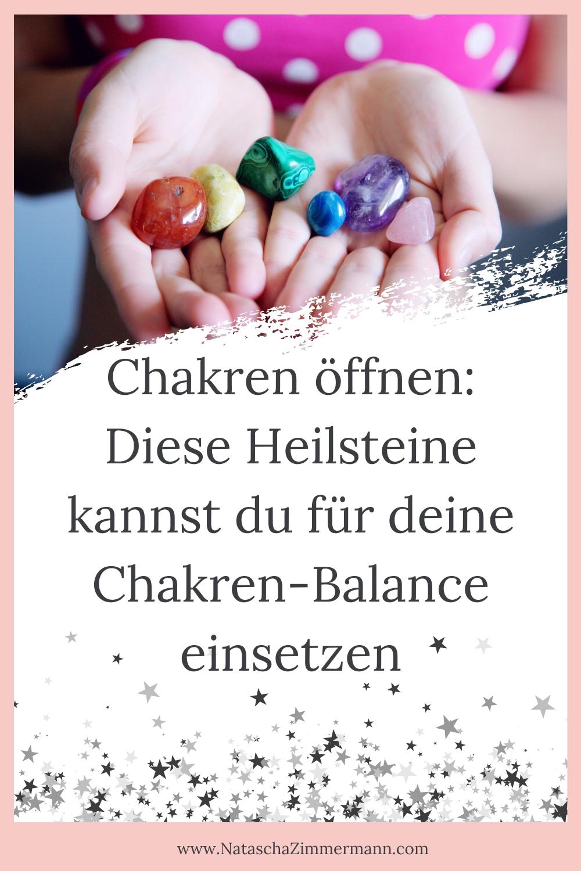 Chakren öffnen: Diese Heilsteine kannst du für deine Chakren-Balance einsetzen