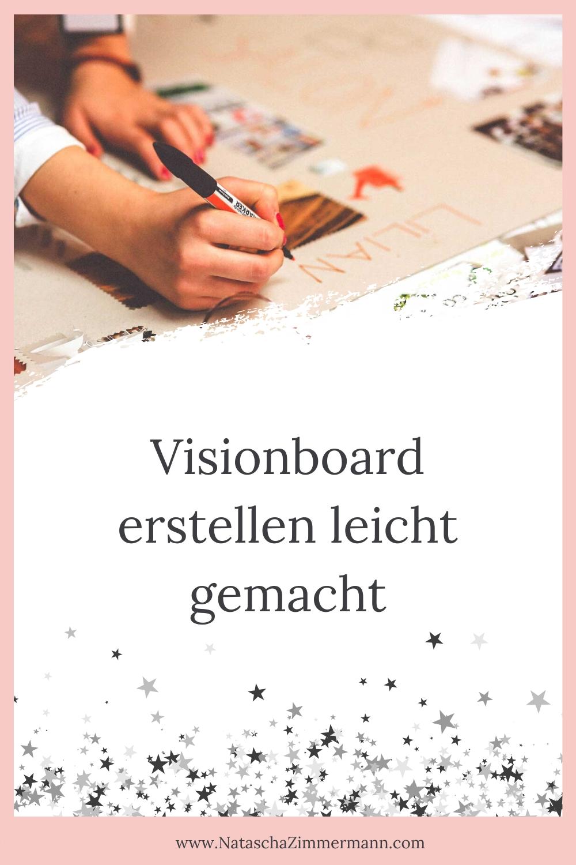 Visionboard erstellen leicht gemacht